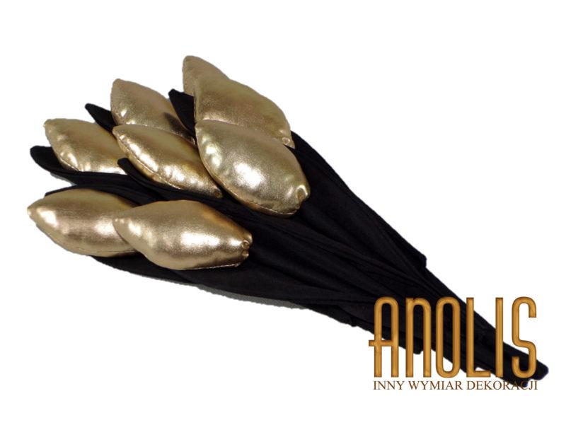 Złote tulipany