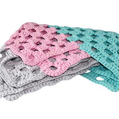 stylowy dywan bawełniany pastelowy