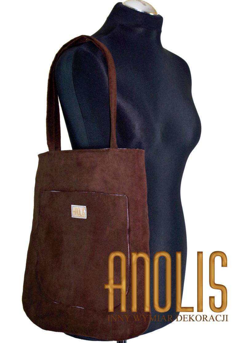 shopper bag braun
