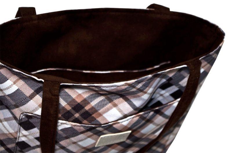 dwustronna torba na zakupy