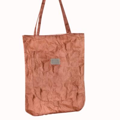 torba na ramie brudny roz