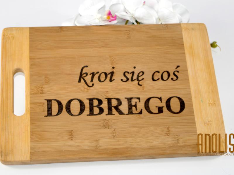 Ekologiczna drewniana deska