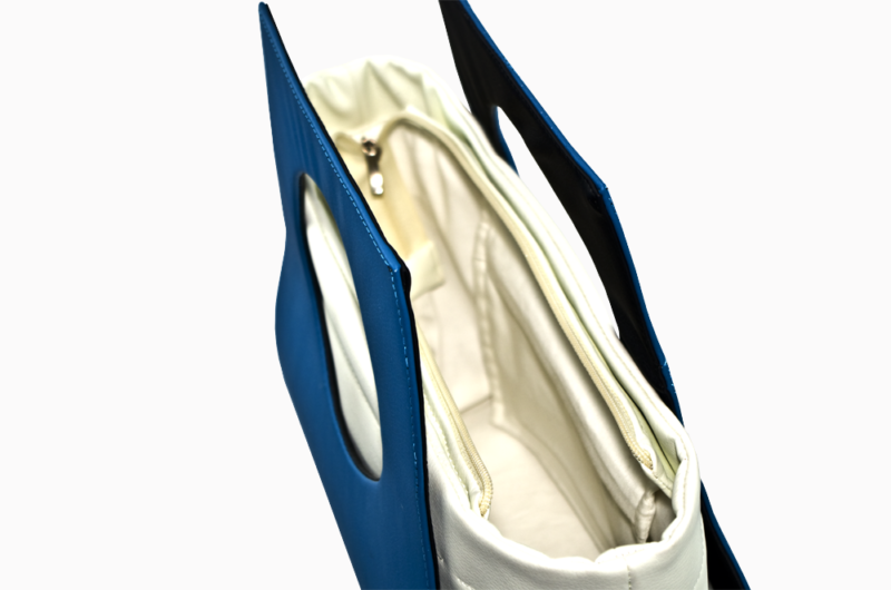 elegancka torebka turkusowa