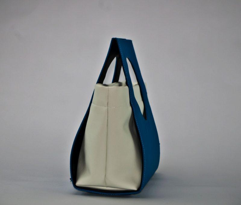 modna elegancka usztywniana torebka