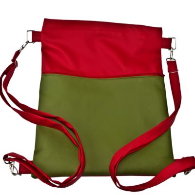 plecak worek czerwono czarny