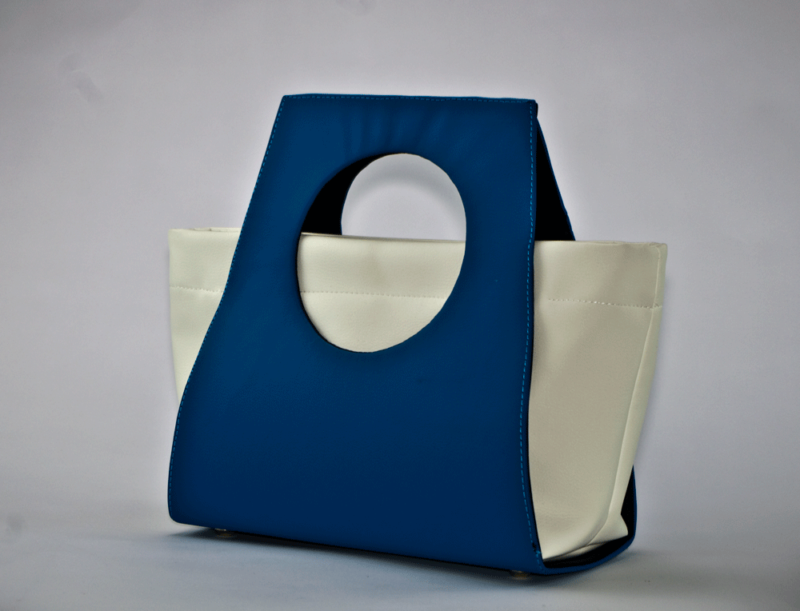 turkusowa torebka
