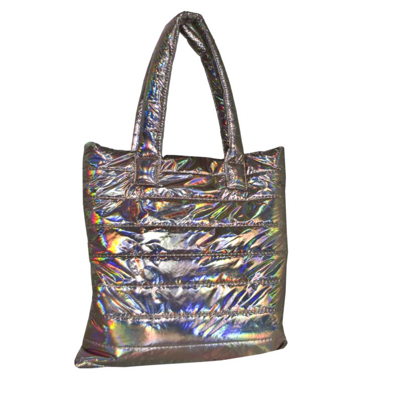 shopperka metalizowana na ramie